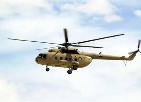 مروحيات الجيش تحلق في سماء أسيوط لمتابعة العملية الانتخابية