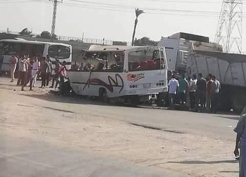 """""""الصحة"""": ارتفاع ضحايا أتوبيس بورسعيد لـ9 وفيات و18 مصابا"""