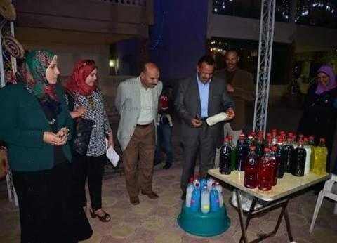 رئيس مدينة مرسى مطروح يفتتح معرض المنتجات اليدوية بالنادي الاجتماعي