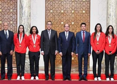 الجريدة الرسمية تنشر قرار السيسي بمنح وسام الرياضة لأبطال الإسكواش