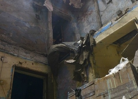 مصرع ربة منزل وإصابة 5 آخرين في انهيار منزل قديم بقرية القشيش