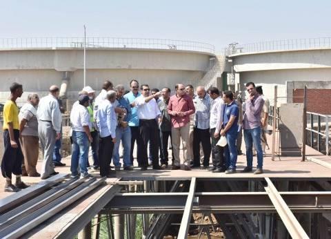 محافظ أسيوط: 33 قرية دخلت مشروعات الصرف الصحي