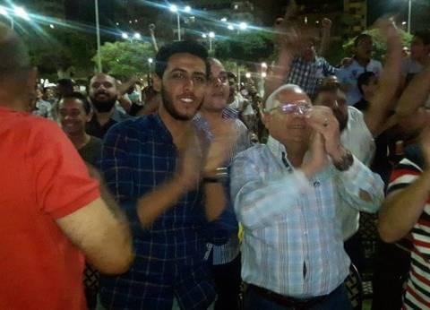 أهالي بورسعيد يحتفلون في الشوارع بصعود مصر إلى كأس العالم