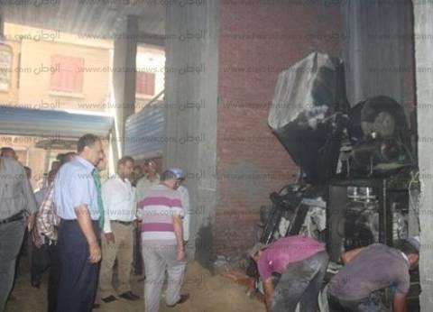 حي غرب الإسكندرية يشن حملات إيقاف أعمال البناء المخالف