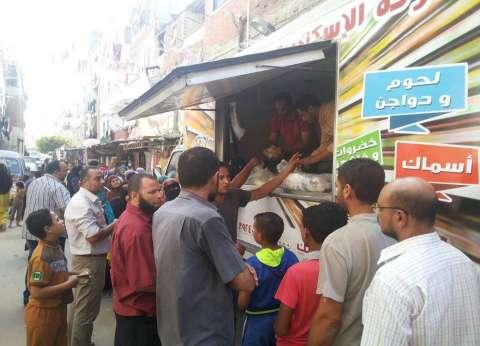 """القابضة للصناعات الغذائية: تسليم 30 سيارة سلع ضمن مبادرة """"تحيا مصر"""""""