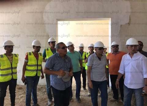 """صور  رئيس """"الوطنية للمقاولات"""" يتفقد أعمال إنشاءات متحف شرم الشيخ"""