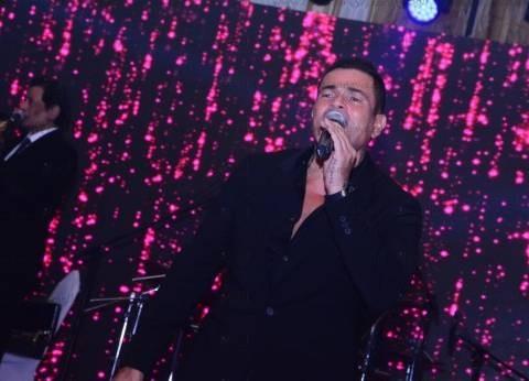 بالصور| عمرو دياب يتألق في حفل لدعم السياحة المصرية بحضور نجم ليفربول