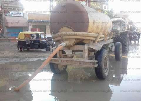 سقوط أمطار على المدن الساحلية بالبحيرة.. وغلق بوغاز رشيد وإدكو