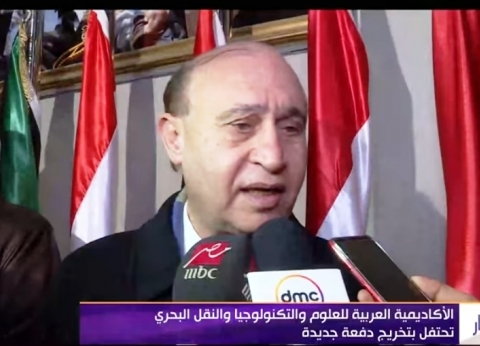 بالفيديو| مهاب مميش: نسعى لتخريج كوادر قادرة على العمل في النقل البحري