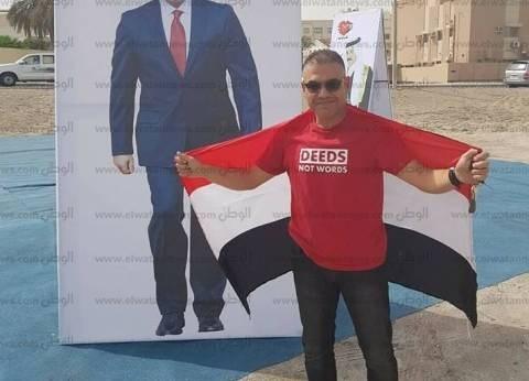وحدة وفرحة.. عمرو ومايكل يسافران من السعودية للبحرين: علشان مستقبل مصر