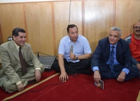قيادات جامعة المنوفية تفتتح مسجد كلية التربية