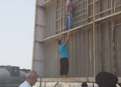 رئيس حي مصر الجديدة: إزالة 6 إعلانات لعدم سداد الرسوم