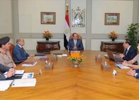 تفاصيل اجتماع السيسي مع رئيس الحكومة ووزير البترول