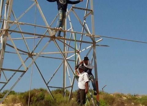 """""""كهرباء شمال سيناء"""" تعلن عودة الكهرباء لخط غزة 1"""