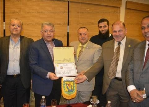 """""""معلمين جنوب سيناء"""" تكرم أعضاء لجنة التعليم بمجلس النواب"""