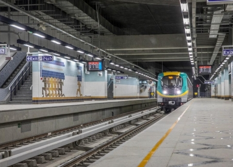 """""""القومية للأنفاق"""": بدء تنفيذ خط """"الهرم"""" يناير المقبل.. وأول مترو في الإسكندرية مطلع 2021"""
