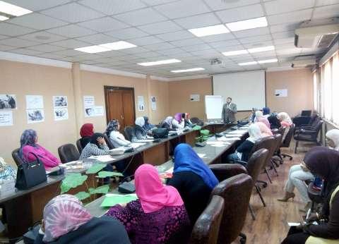 سكرتارية المرأة العاملة باتحاد العمال تكرّم منى عبد المعطي