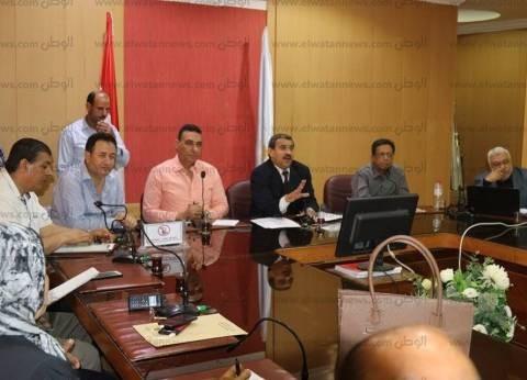 السكرتير العام بكفر الشيخ يوجه بتكثيف الرقابة على المخابز
