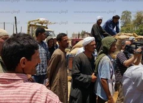 """وكيل """"زراعة أسيوط"""": شون ومطاحن المحافظة تشهد إقبالا كبيرا من المزارعين"""
