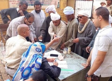 """""""بناة السد العالي"""" في أسوان تشارك بالاستفتاء: """"نبني مستقبل جديد لمصر"""""""