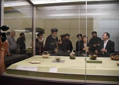 بالصور| البابا تواضروس الثاني يزور المتحف الوطني بطوكيو