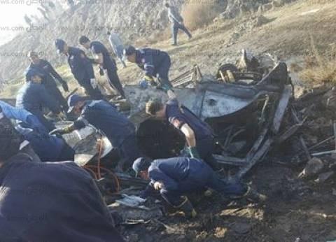 رفع حطام حادث أتوبيس الإسكندرية.. والمشرحة تستقبل 8 جثامين