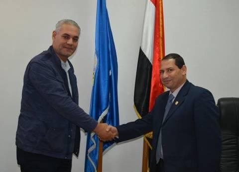 """رئيس جامعة بورسعيد يهنئ """"جابر"""" بتجديد تعيينه معاونا لرئيس الوزراء"""