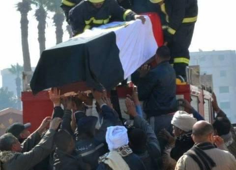 سوهاج تودع المجند حسين شهيد الإرهاب في سيناء