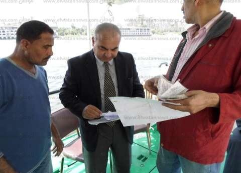 بالصور| وزير النقل يوجه بتكثيف حملات فحص الوحدات النيلية قبل عيد الفطر
