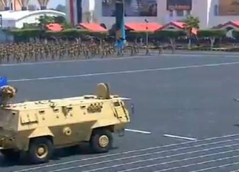 عرض قتالي لطلبة الكلية الحربية بمشاركة كلية الشرطة بحضور السيسي