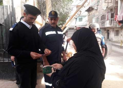 إقبال نسائي على لجان المعادي في ثالث أيام التصويت