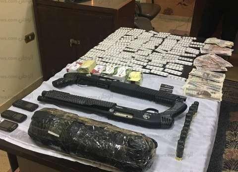 ضبط عاطلين بحيازتهما سلاحين و400 قرص مخدر في كفر الشيخ