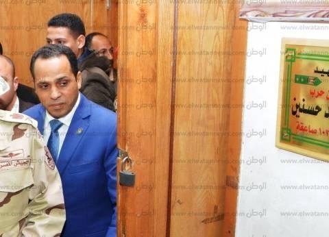 رئيس جامعة دمنهور يفتتح مدرج الشهيد رامي حسنين