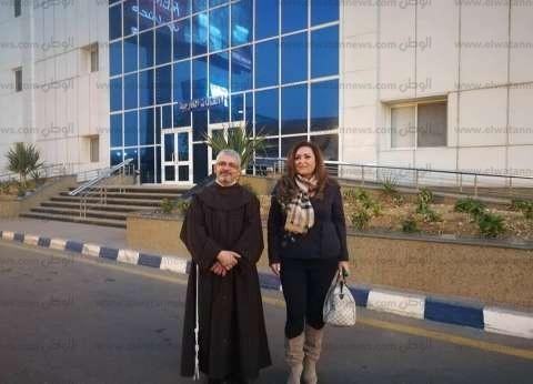 نهال عنبر تكشف آخر التطورات الصحية لـ سعيد عبد الغني