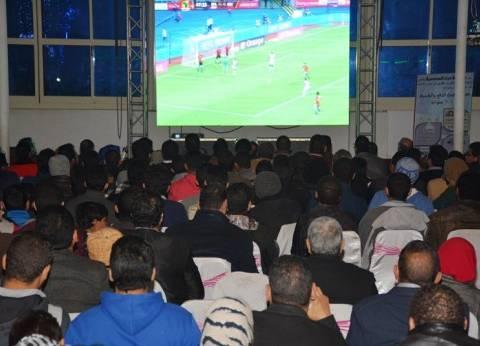 شاشات عرض بمراكز الشباب لمتابعة مباريات كأس العالم بسوهاج
