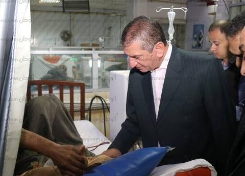 دعم مستشفى كفر الشيخ العام بجهازي تعقيم و9 مكيفات لوحدة الغسيل الكلوي