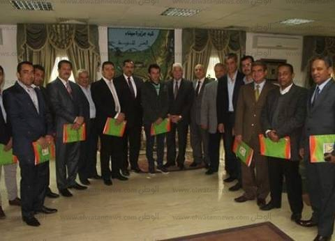 محافظ جنوب سيناء يكرم عدد من ضباط الشرطة والأجهزة الأمنية