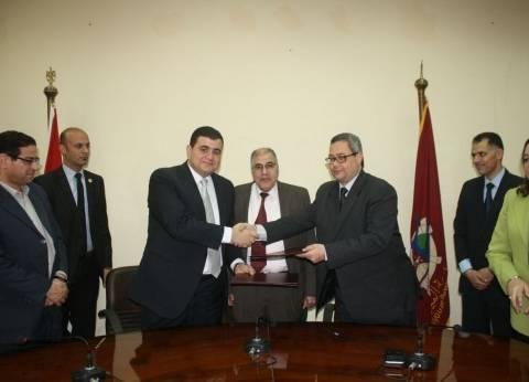 مشروع تعاون بين دار الكتب وكلية الآثار والمكتبة الرقمية بجامعة الفیوم