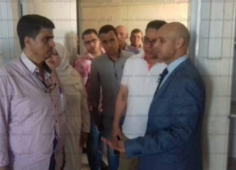 """وكيل """"صحة الشرقية"""" يتفقد مستشفى أولاد صقر المركزي لمتابعة سير العمل"""