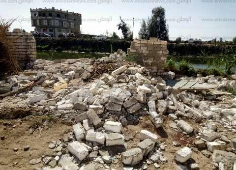 إزالة التعديات على مساحة 14 فدان أرض زراعية في كفرالشيخ