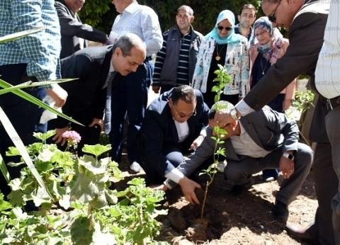 """محافظ الشرقية يطلق مبادرة """"اغرس شجرة مثمرة"""""""