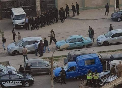الشرطة تغلق شارع طه حسين بعد استشهاد معاون مباحث النزهة