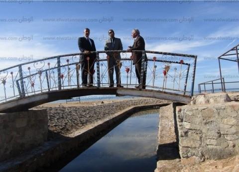 """سكرتير """"جنوب سيناء"""" الجديد يتفقد مشروعات الخطة الاستثمارية في أبورديس"""