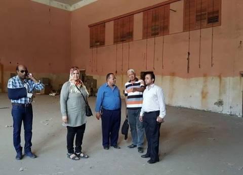 محافظ الغربية يخصص دار التحرير بالمحلة لإنشاء مسرح ثقافي بـ15 مليون