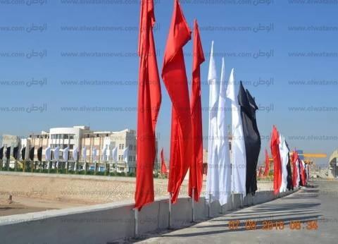 بالصور| لقطات من قلب أسيوط الجديدة قبل افتتاح السيسي مشروع القناطر