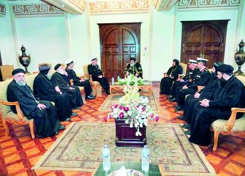 البابا: تنوع المصريين مصدر للفرح.. وسعدت بمسجد العاصمة الإدارية مثل الكاتدرائية