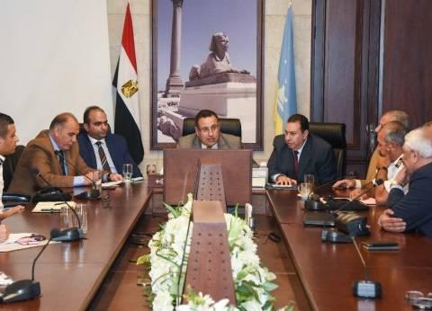 محافظ الإسكندرية يكلف بوضع رؤية شاملة لتطوير منظومة النقل