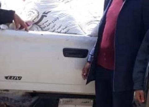 """""""تموين الفيوم"""": ضبط 390 كيلو دقيق قبل تهريبها للسوق السوداء"""