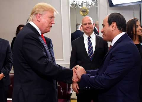 """أحمد موسى عن القمة المصرية الأمريكية: """"ترامب مرحش لحد إلا للسيسي"""""""