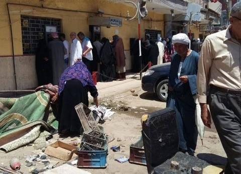 حملة لإزالة الإشغالات بحي الحسينية في الشرقية